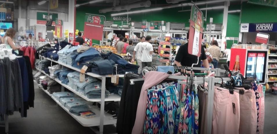 supermercados indumentaria venta